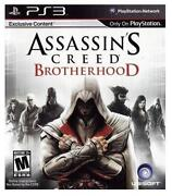 Assassins Creed Brotherhood PS3 New