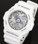 G Shock XL White