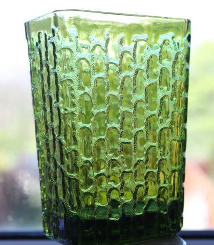 Retro Glass Vase Ebay
