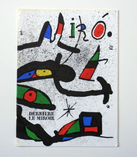 Derriere le miroir miro ebay for Miro derriere le miroir