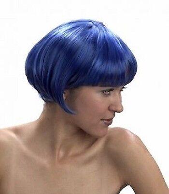 l Short Bob Fancy Dress Wig Costume Party Wig 6 Colours (Supermodel Kostüm)