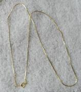 18K Gold Chain Italy