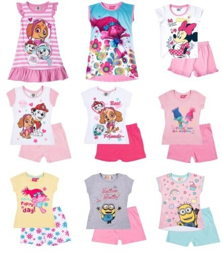 Personaggio Disney Ufficiale Camicia da notte Donna Camicia da notte BUM Pigiama Pj scegliere