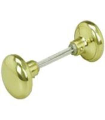 Prime Line Products E 2297 Solid Brass Knobs & Spindle Brass