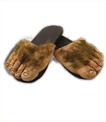Billy Bob Big Ol' Hairy Feet Sandals Crazy Feet Big Foot Sasquatch Cave Man - Hairy Feet