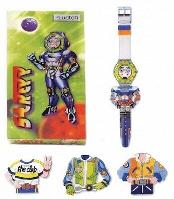 Swatch Scuba 200 Special SDN120PACK STRIPP Watch 1996 Collection with Bonus