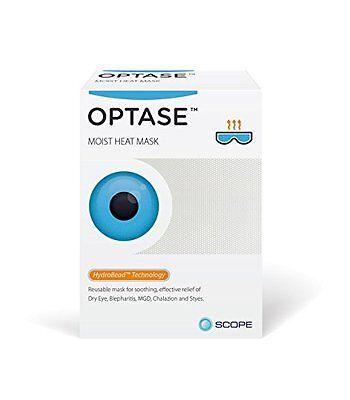 Optase Moist Heat Eye Mask For Blepharitis MGD Dry Eye