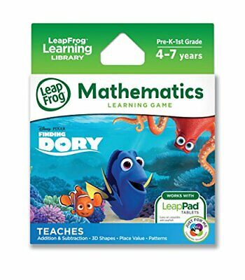 LeapFrog Disney/Pixar Finding Dory Learning Game LeapPad Pla