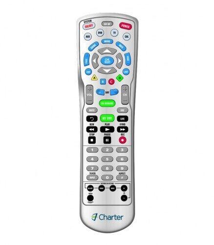 New Remote Control Charter Spectrum Hdtv Dvr Cable Box 4-device