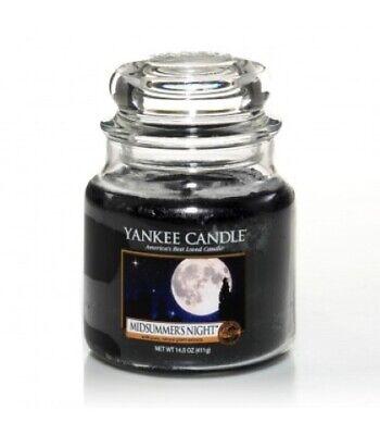 "YANKEE CANDLE - GIARA MEDIA ""MIDSUMMER'S NIGHT"" DURATA MAX. 65/75 H - 114174E"