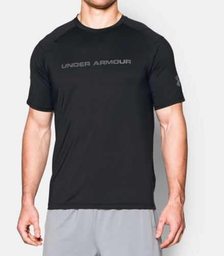 New Mens Under Armour Muscle HeatGear Scope Fit Gym Athletic Top Shirt