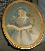 Vintage Portrait Painting