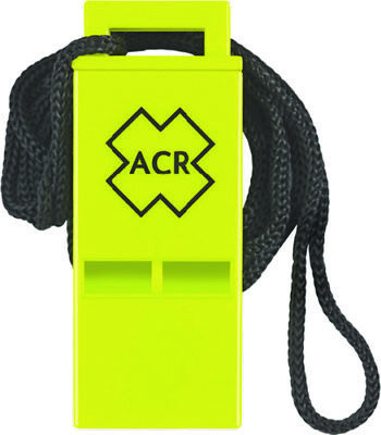 Boat Marine Safety Whistle ACR WW-3 Survival Res-Q Whistle SOLAS 83 USCG - Ww 3 Res Q Whistle