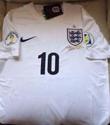 Personalised England Football Shirts