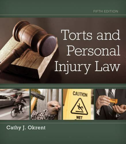 Torts and Personal Injury Law by Cathy Okrent (2014, Hardcover) 1