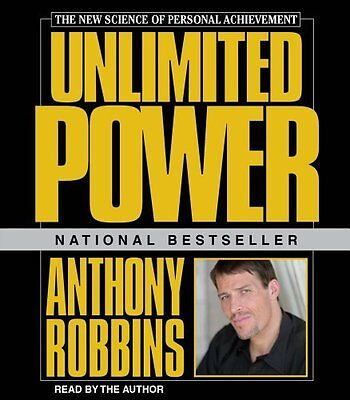 New Unlimited Power on CD Anthony Tony Robbins nlp