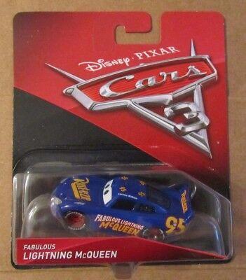 Disney Pixar Cars 3 FABULOUS LIGHTNING MCQUEEN ~ Rust-Eze #95 ~ NIP