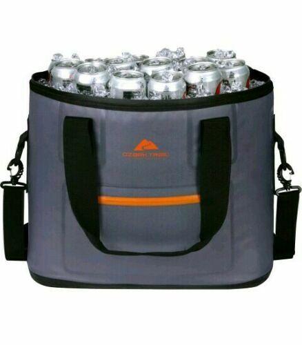 Ozark Trail Premium Jumbo Leak-Proof Tote Cooler W/Dual Btl Opener, Gray 36 Can  - $39.99