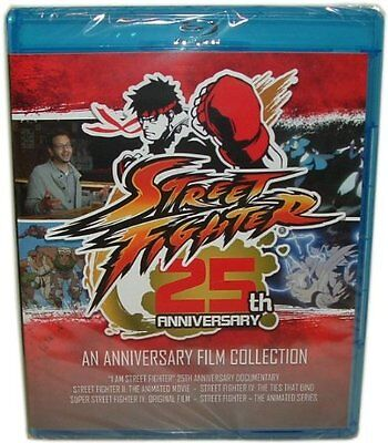 Blu Ray Street Fighter 25Th Anniversary 5 Film Collection Brand New Sealed