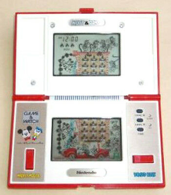 USED Nintendo Game & Watch Mickey & Donald JAPAN import GW G and W Japanese