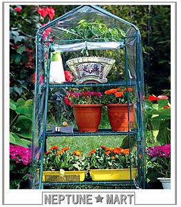 NEPTUNE-3-Tier-49-H-Mini-Portable-GREENHOUSE-Green-Grow-Hot-House-02-NIB