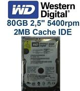 Festplatte 2 5 IDE 80GB
