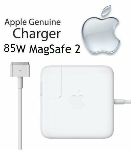 Genuine MacBook Pro 85W Mag Safe2 Power Adapter Charger A1398 Late 2012 to 2015