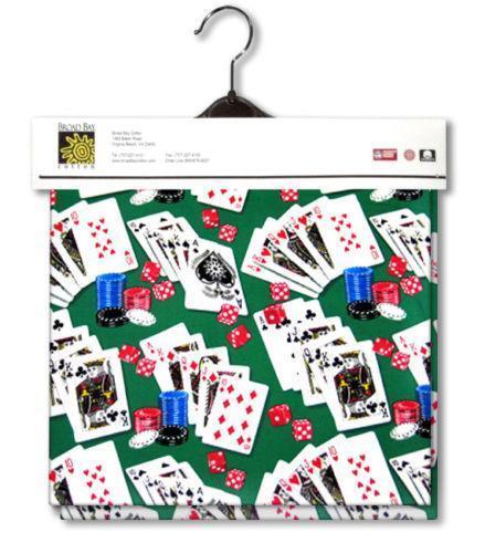 Poker themed tablecloths