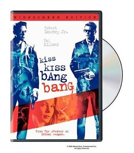 Kiss Kiss Bang Bang DVD-Very good condition dvd + bonus dvd