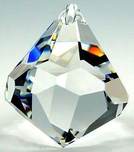 original swarovski kristalle glaskegel kristallkegel 30mm prisma feng shui deko ebay. Black Bedroom Furniture Sets. Home Design Ideas