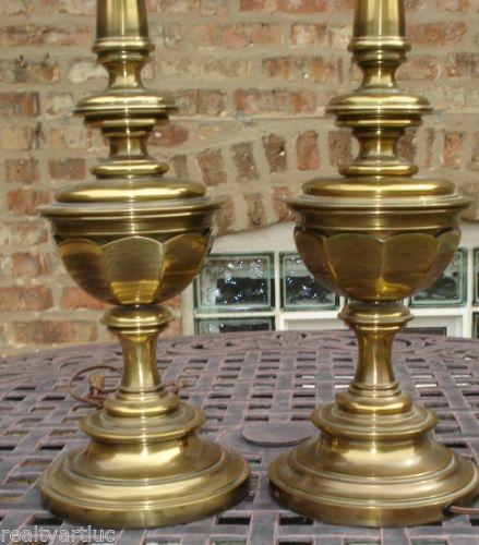 Vintage Brass Table Lamp Ebay