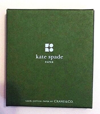 Nwt Kate Spade Crane   Co 100  Cotton Word Placecards   12 Folders Rare Sealed