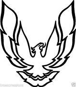 firebird emblem ebay 1997 Pontiac Trans AM WS6 firebird sticker