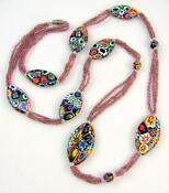 Venetian Millefiori Necklace