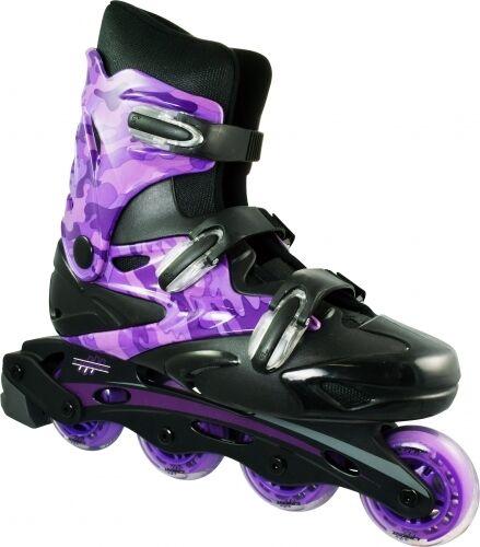 Linear Purple Camo Inline Skates - Indoor Outdoor Roller Blades