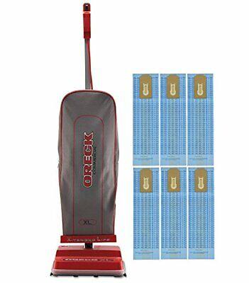 Oreck Commercial U2000R-1 120 V Red/Gray Upright Vacuum Bund