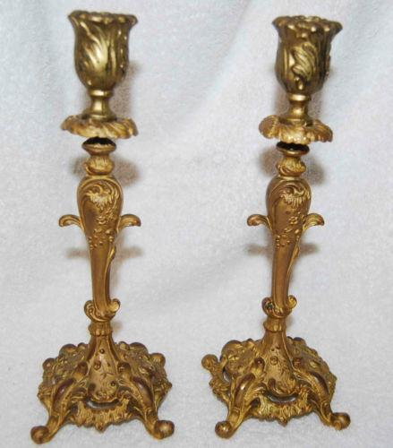 Opinion Vintage candlestick holders matchless theme