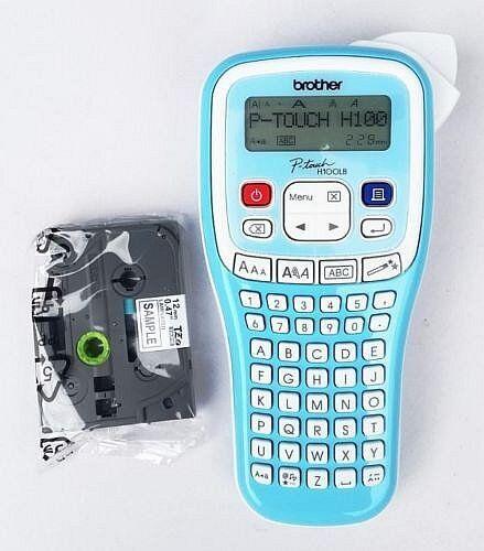 Beschriftungsgerät Brother PTH100LB Etikettiermaschinen Etikettendrucker Neu