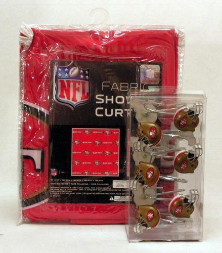 49ers Shower Curtain Ebay