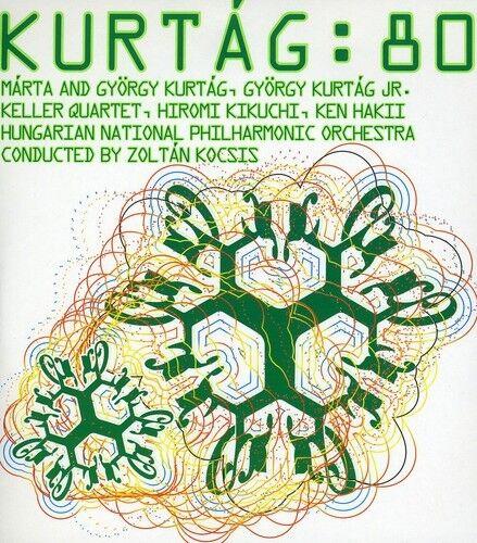 Gyorgy Kurtag / Kikuchi / Hakii / Kocsis - Kurtag: 80 [New CD] Digipack Packagin