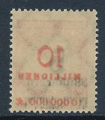 D.Reich Nr. 334 A postfrisch / ** mit ABKLATSCH des roten Werteindrucks (30418)