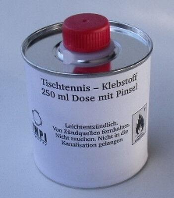 Tischtennis Klebstoff  Belagkleber 250 ml mit Pinsel