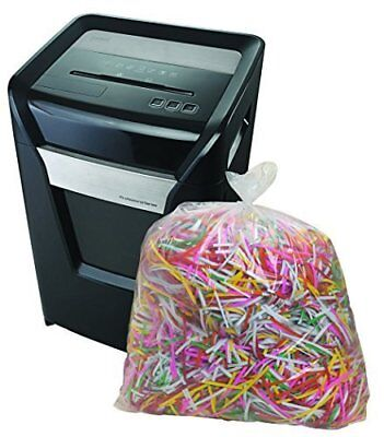 Staples Shredder Bags Clear 15.8 Gallons 50 Count