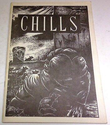 Chills # 6 – UK small press horror - Spring 1992 - Signed by Allen Koszowski