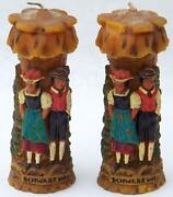 German Carved Candle