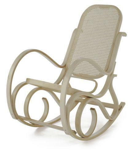 antique bentwood rocking chair ebay. Black Bedroom Furniture Sets. Home Design Ideas