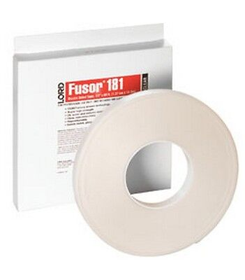 Lord Fusor 181 Clear Double-Sided Tape, 1/2