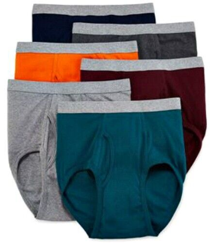 Stafford mens full cut briefs underwear 6 pairs Colors Clothing, Shoes & Accessories