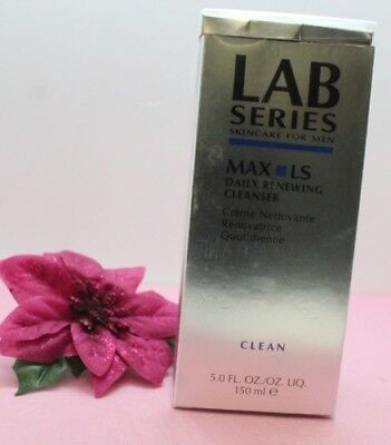 Lab Series for Men Max LS Daily Renewing Cleanser 5 oz  for sale  Shipping to India
