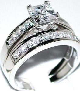 Princess Cut Diamond Engagement Ring Ebay